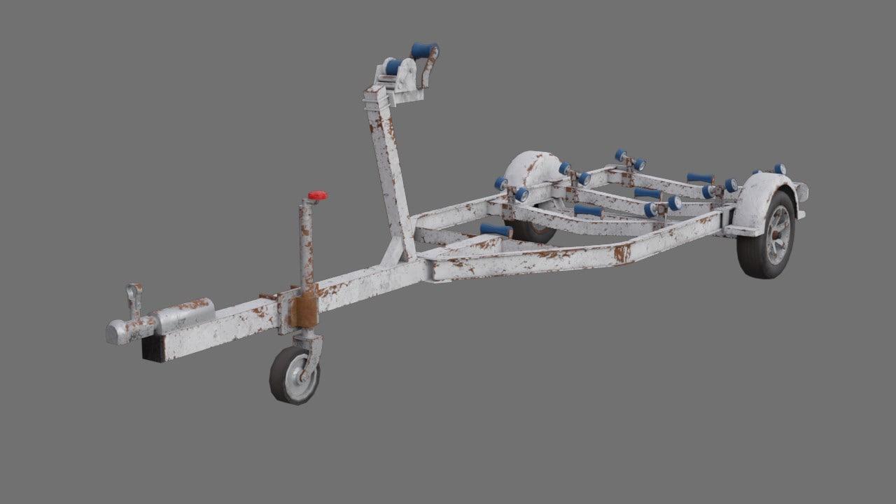 boat trailer 1b model