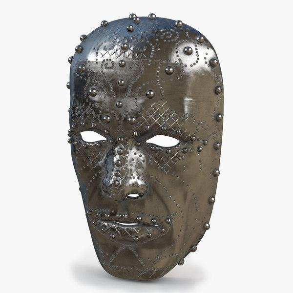 metal mask v2 3D model