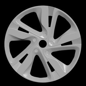 3D car rim 3