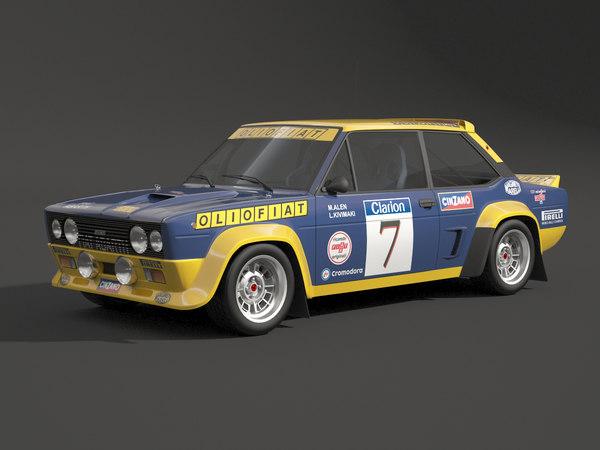 131 mirafiori rally model