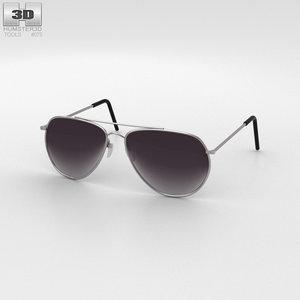 police sunglasses sun 3D model