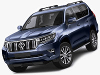 Toyota Land Cruiser J150 2018
