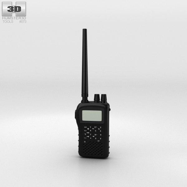 police radio 3D