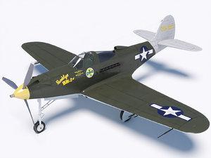 3D bell p-39 airacobra