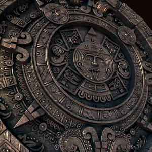 mayan calendar 3D