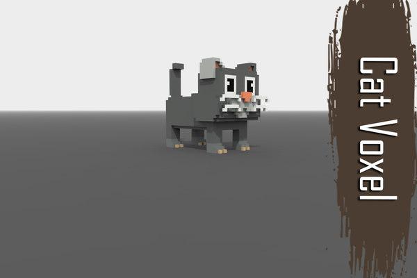 3D cat voxel model