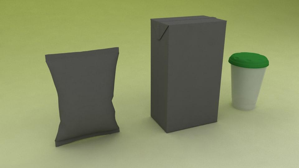 dairy packaging model