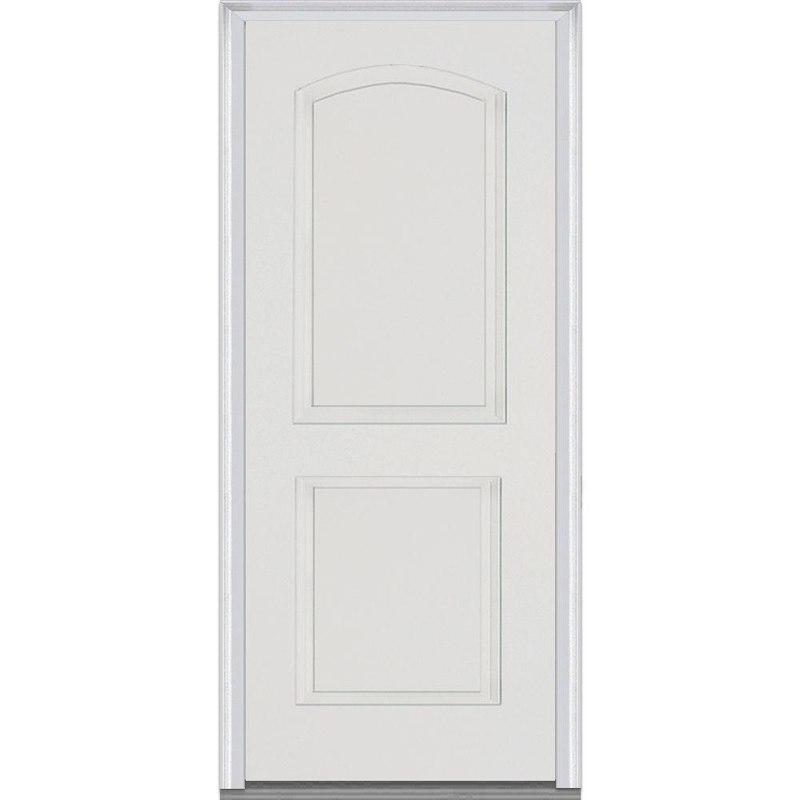 3D model fiberglass doors smooth prehung