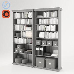 3D liatorp ikea books