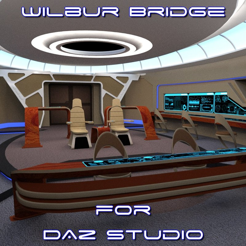 Wilbur Bridge for DAZ Studio