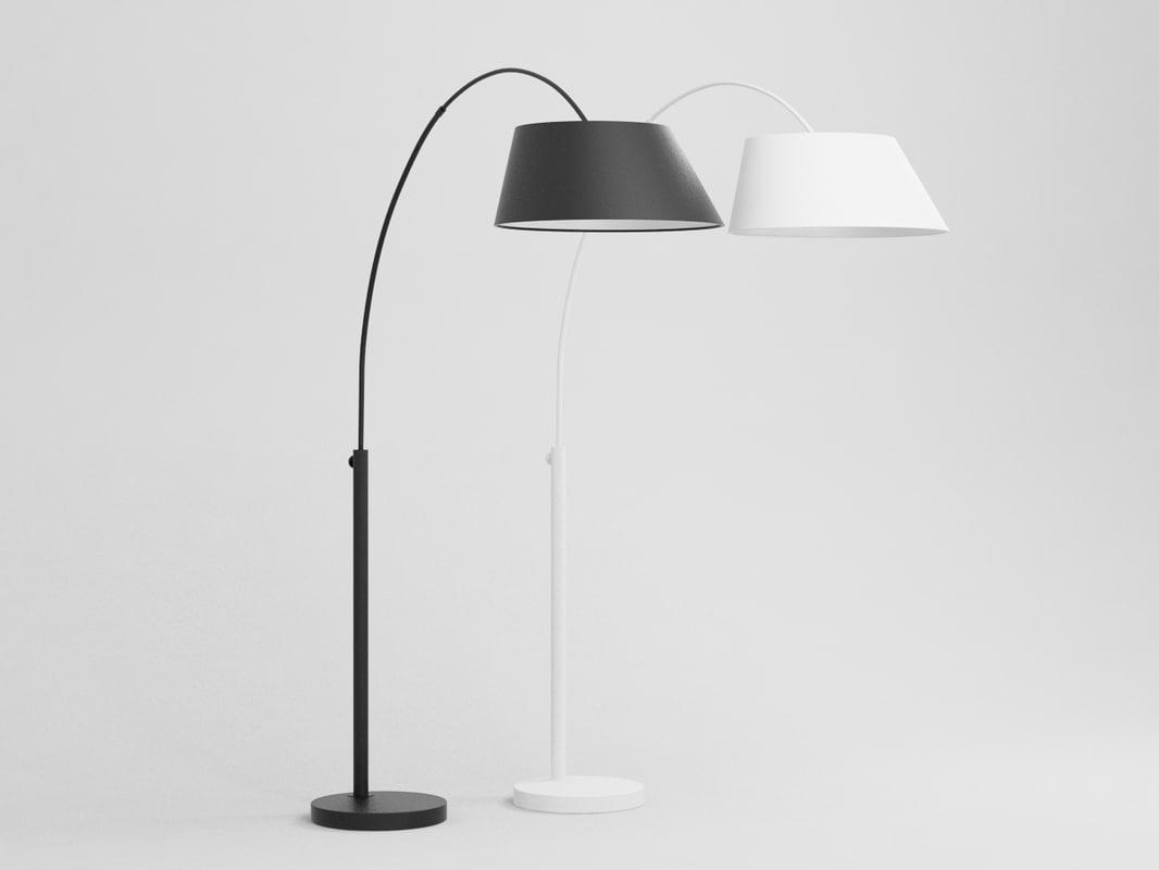 arc lamp 3D model