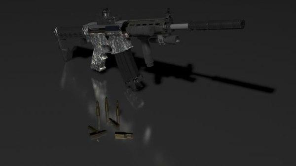 3D m4a1 assault