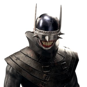 3D batman laughs gaming model