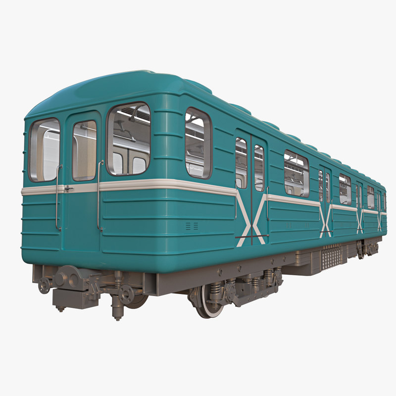 subway carriage 3D