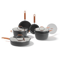 3D black pots set