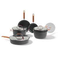 3D black pots set