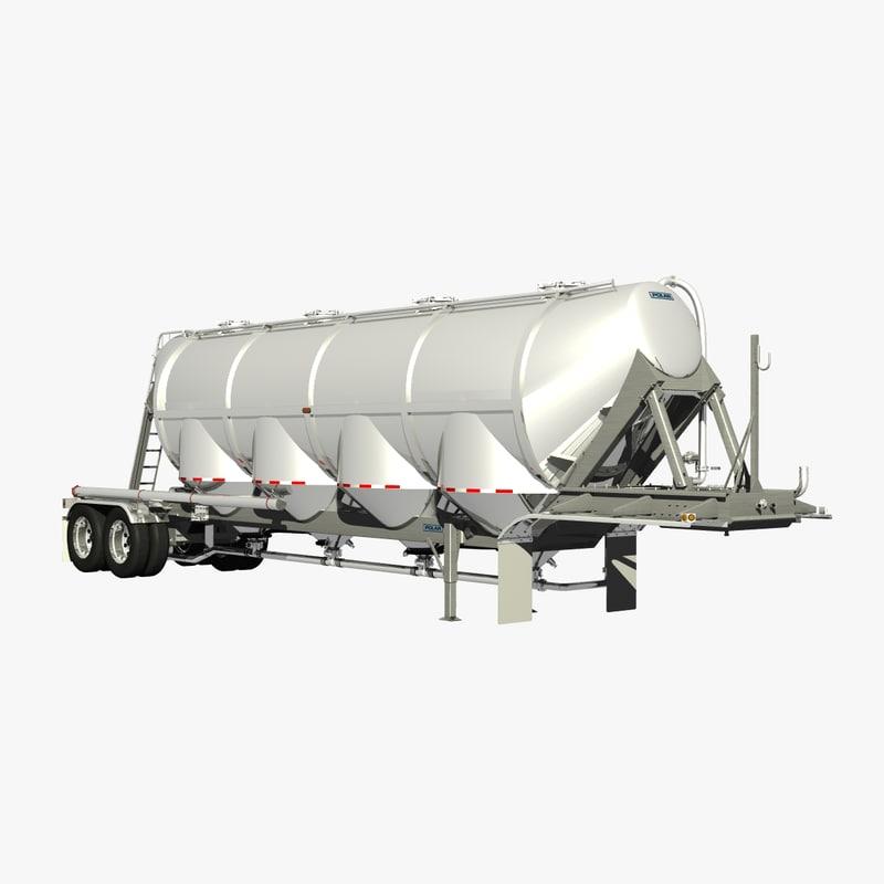 3D pneumatic trailer