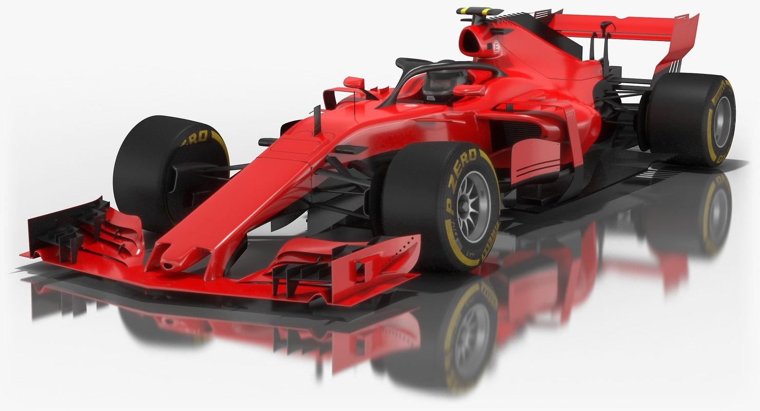 generic formula 1 season 3D