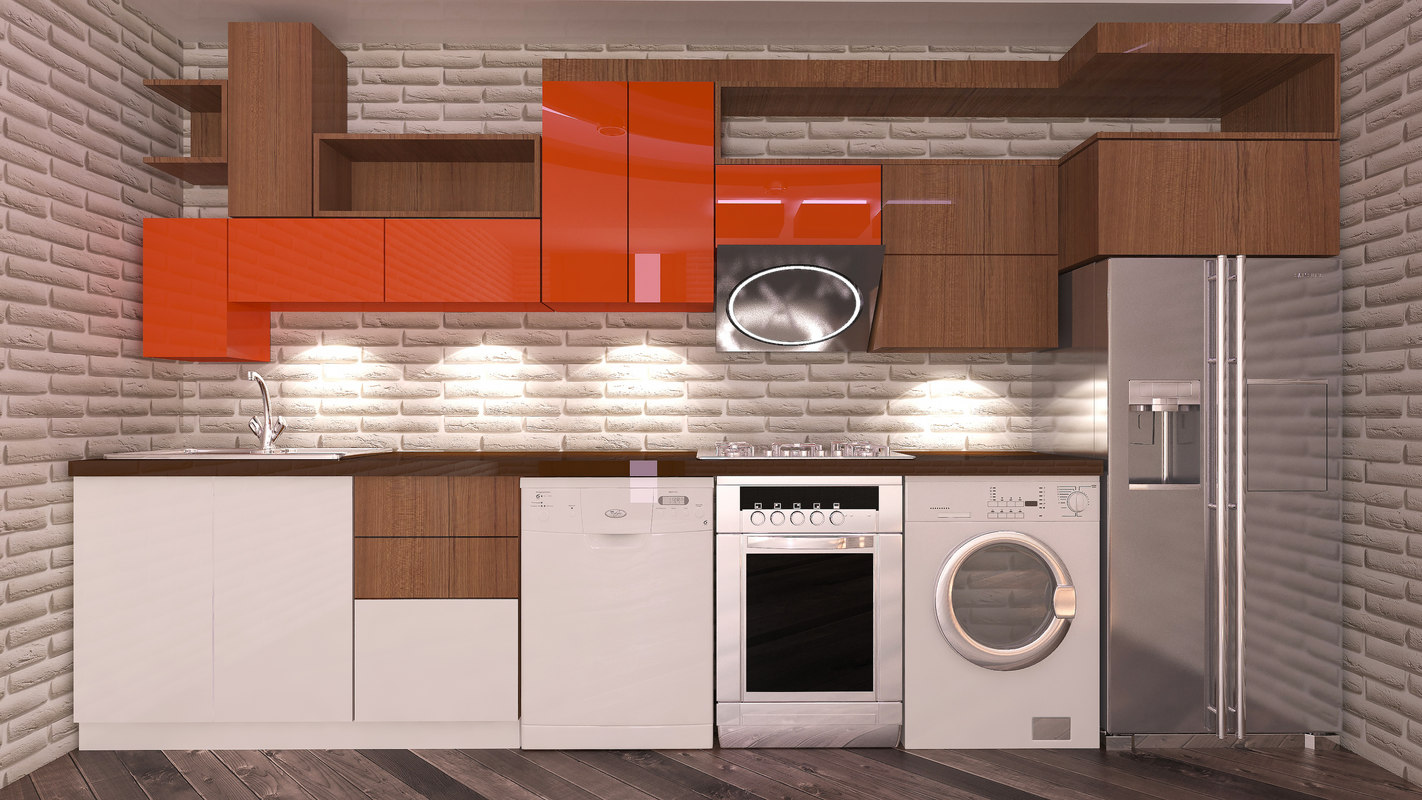 kitchen ruslan 3D