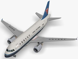 airbus a319-112 china southern 3D model