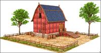 building farm 3D model