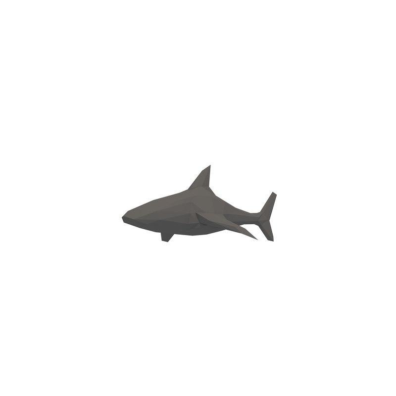 simple shark 3D