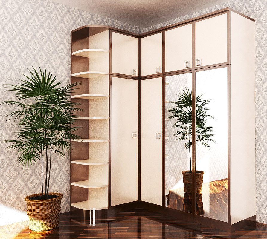 wardrobe furniture 3D