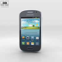 samsung galaxy fame 3D model