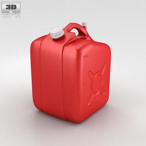 jerry 5 gallon 3D model