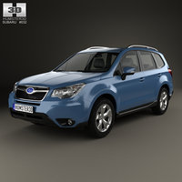 3D subaru forester xc