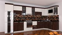 kitchen modern furniture seyran 3D model