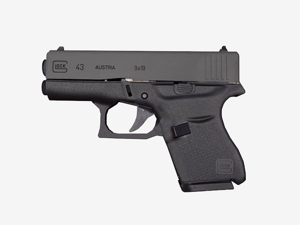 3D glock 43 model