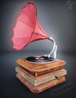 3D gramophone ready hd