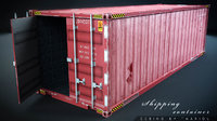 3D model container ready