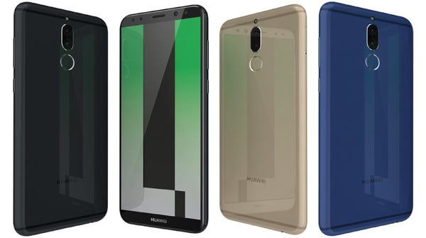 huawei mate 10 lite 3D model