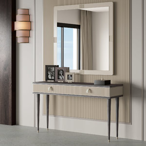 3D cipriani homood console cocoon model