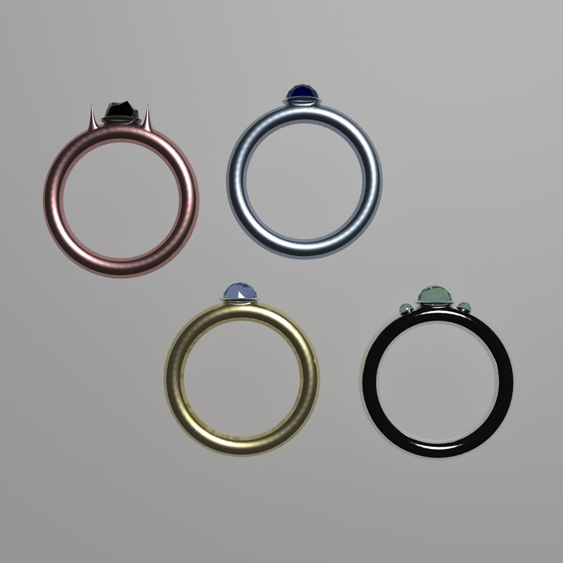 ring accessories 3D