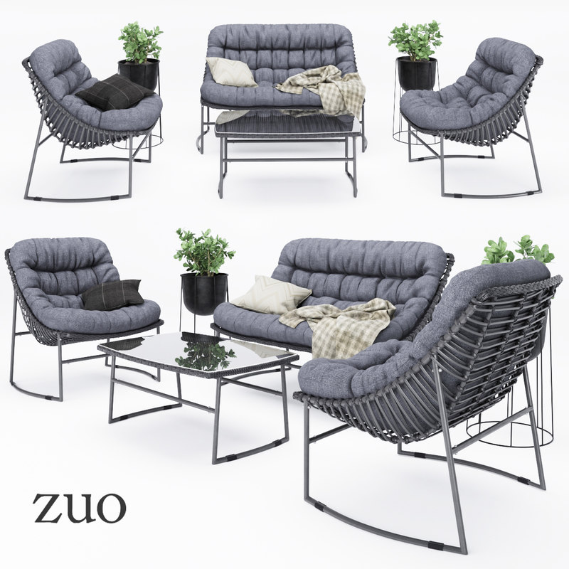 zuo furniture outdoor model