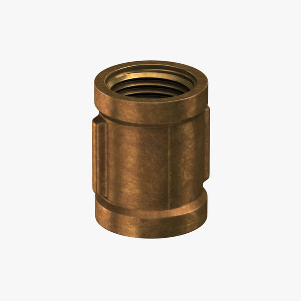 vintage brass pipe straight model