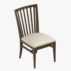 3D traditional chair model