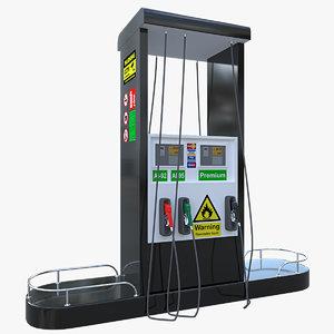 petrol pump model