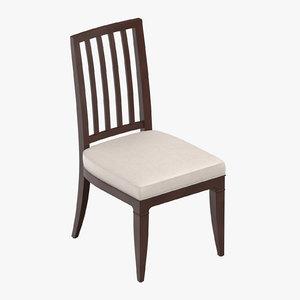 classical chair 3D model