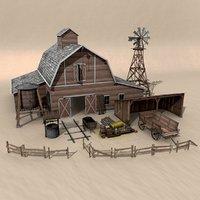 3D model pack farm
