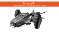 3D hunter kiler helicopter
