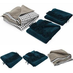 3D blanket 04 model