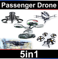Passenger copter Set 5in1