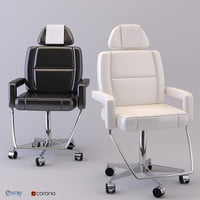 3D model care chair