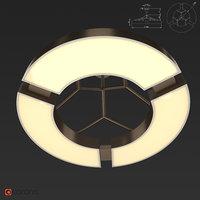3D ozone light ceiling