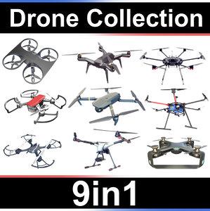 dji drone 3D