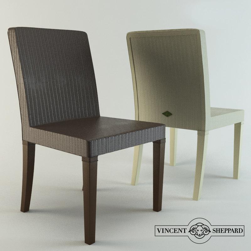 vincent sheppard chair 3D model